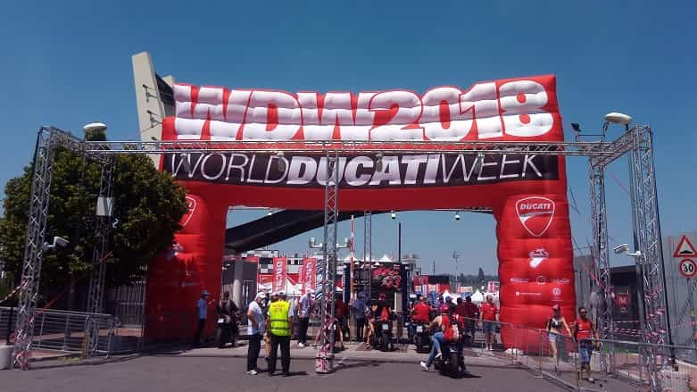 World Ducati Week 2018出展