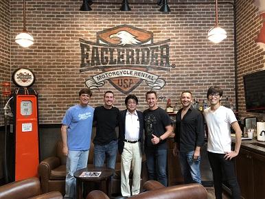 レンタルバイク・バイクツアーの日米相互送客を実現、米国EagleRider社とRental819の業務提携を開始