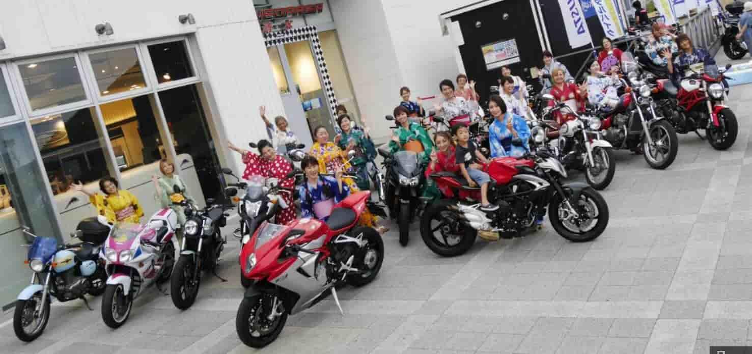 「浴衣女子×バイク」8/13NEOPASA清水イベントを開催!